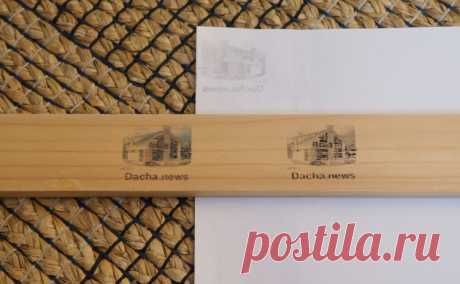 Como imprimir cualquier imagen en el árbol | Dacha.news
