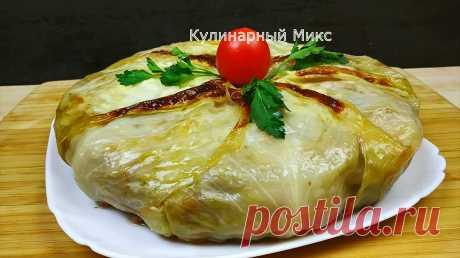 Пирог с капустой и фаршем: абсолютно без теста | Кулинарный Микс | Пульс Mail.ru Очень вкусно, просто и необычно. Можно даже на праздник готовить.
