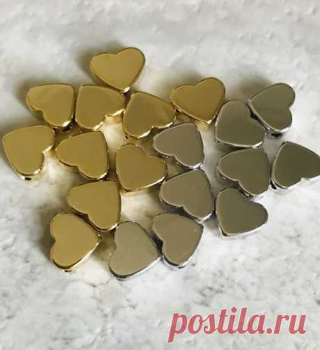 Pinterest - Additional Gold or Silver Heart Charms $3Heart Charms | Heart Strings Collections