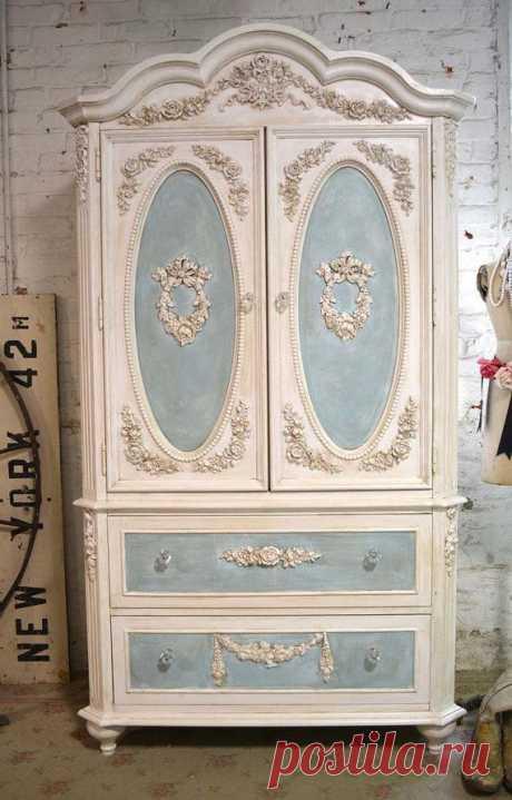 Реставрация старой мебели для дома