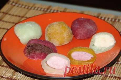 Мочи - японский десерт (Mochi Balls).  сайт кулинарных рецептов Юлии Высоцкой
