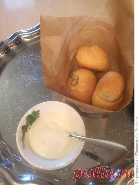 Белорусские кныши (пирожки) с картофелем и грибами. Пошаговый рецепт с фото