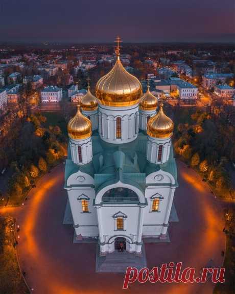 Екатерининский собор, г.Пушкин, г.Санкт-Петербург, Россия. Автор фото:vitaliy.karpovich