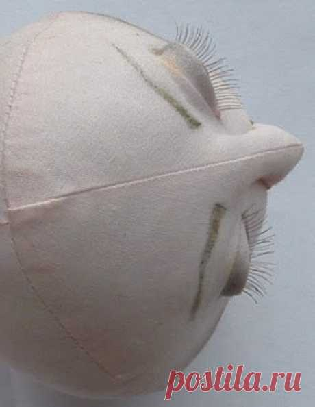 Doll's therapy. Для заболевших куклами.  Глаза с веками для текстильной куклы.