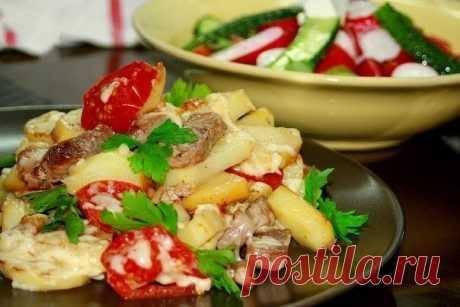 "Шустрый повар.: Картофель ""По-французски"" на сковороде"