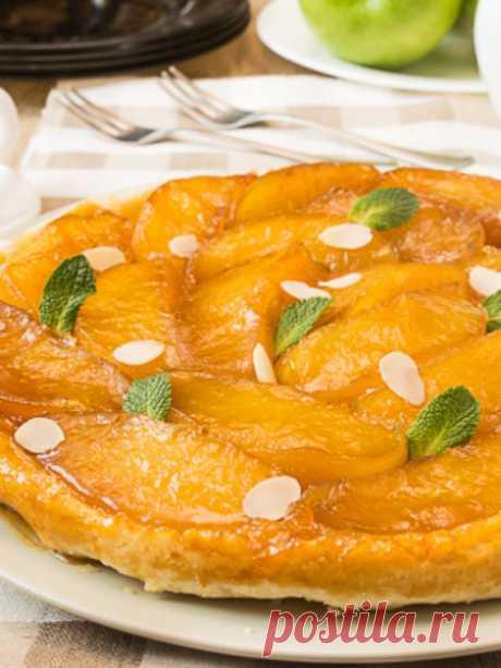 Рецепт тарта Татен с яблоками