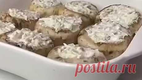 Грибы с начинкой ( рецепт )