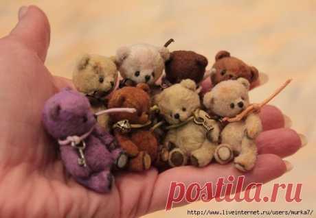 Медвежата-миники