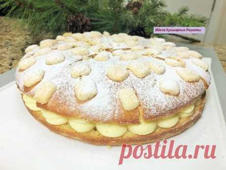 Новогодний Торт СНЕЖНОСТЬ. Шикарный , Сказочный, Зимний торт - пирог с кремом.