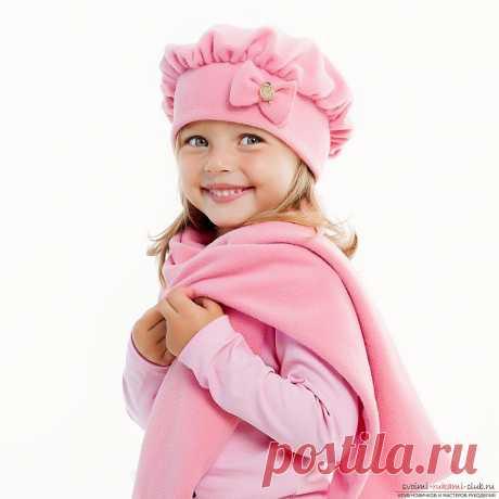Как самостоятельно сшить для девочки симпатичный берет. Пошаговое описание выполняемых действий по пошиву берета