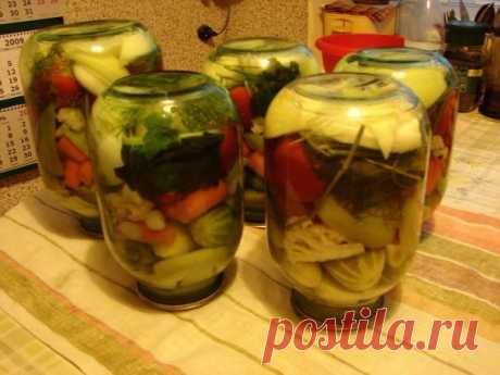 Овощное ассорти / Здоровый аппетит