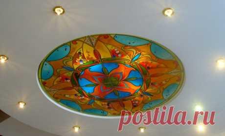 витражная роспись по стеклу - Самое интересное в блогах