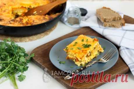 Запеканка с тыквой, картофелем и шпинатом — рецепт с фото пошагово