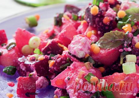 Летнее меню: 5 рецептов салатов от Юлии Высоцкой | Высоцкая Life