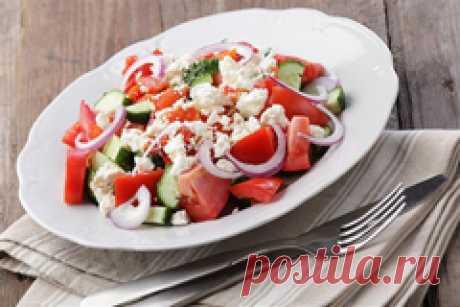Рецепты низкокалорийных салатов с указанием калорий