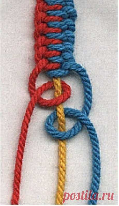 Macrame - friendship-bracelets.net/macrame neat