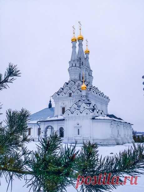 Храм во имя Смоленской иконы Божией Матери Одигитрии (Россия, Вязьма) - автор фото Ветер Ветер