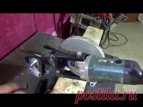 Станина для болгарки за час  Пошаговая инструкция изготовления  и размеры