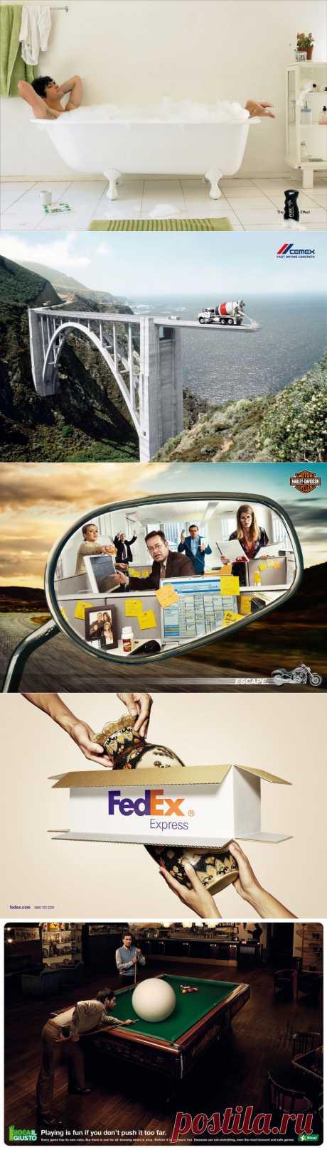 Креативная реклама — первый шаг на пути к успеху — YESWAY