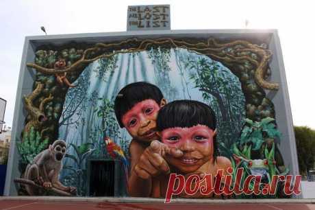 15 уличных рисунков, которые смотрят прямо в душу