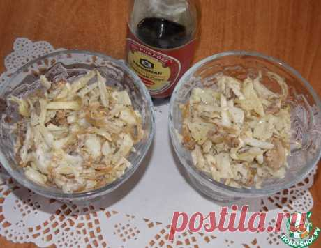 Салат из капусты и курицы – кулинарный рецепт