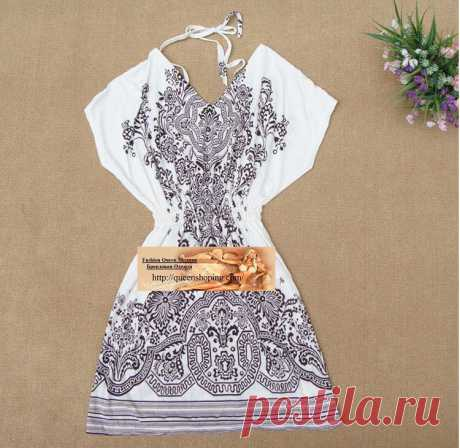 Платье  Арт № WOM 071 Размер: Бюст 69-100  Талия 54-95 Длина 125 Ткань: шелк, полиэстер