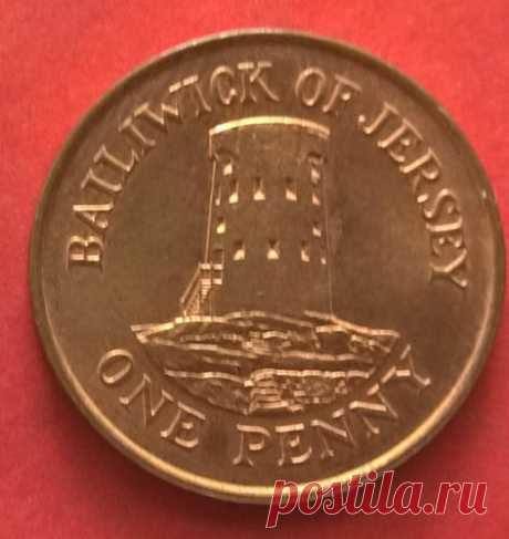 JERSEY ONE PENNY 1994 COIN   eBay