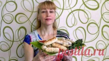 Куриные сосиски (колбаски) в домашних условиях