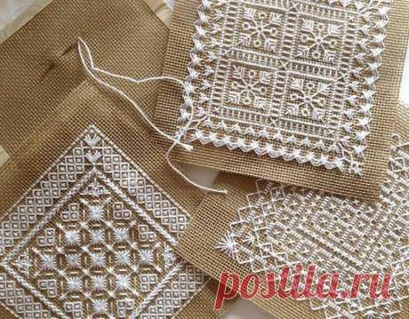 Схемы для нежной вышивки