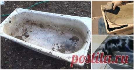 Реставрация «убитой» ванны На многих дачах есть старая «убитая» ванна, которую давно не используют по прямому назначению. Однако в ней собирается мусор, замешивается бетон и т. п. Примечательно, что даже такую «убитую» ванну можно «привести в чувство» и дать ей вторую жизнь...