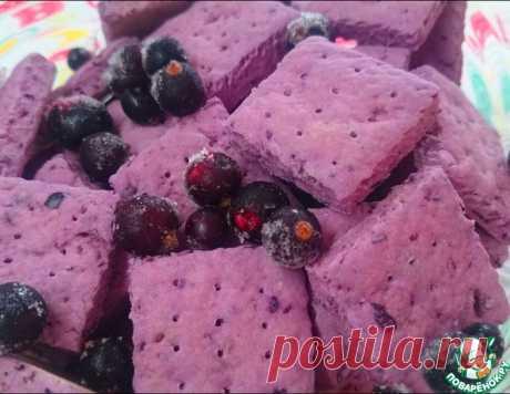 Постное ягодное печенье – кулинарный рецепт