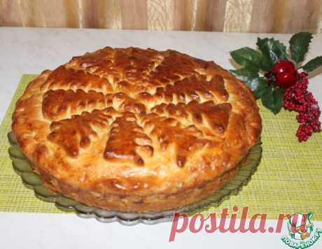 Пирог с халвой и грецкими орехами – кулинарный рецепт