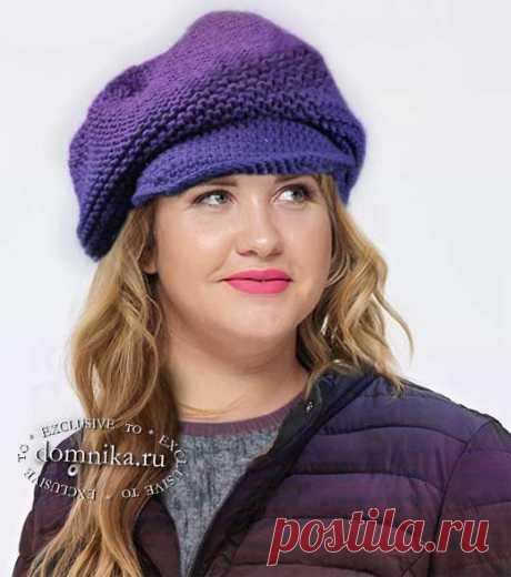 Какие шапки подходят для круглого лица - 10 вязаных шапок для женщин