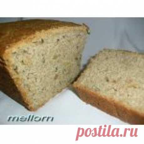 Ржано-пшеничный хлеб с семечками Кулинарный рецепт