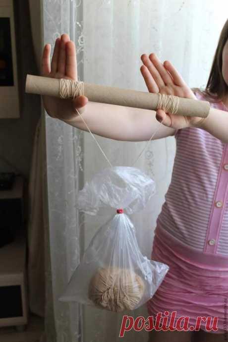 Рукодельные хитрости Как разделить толстую пряжу на несколько нитей