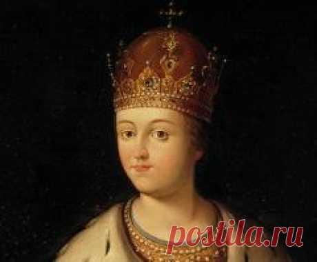Сегодня 27 сентября в 1657 году родился(ась) Софья Романова