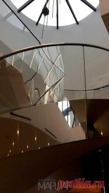 Изготовление лестниц, ограждений, перил Маршаг – Поручень моллированных ограждений