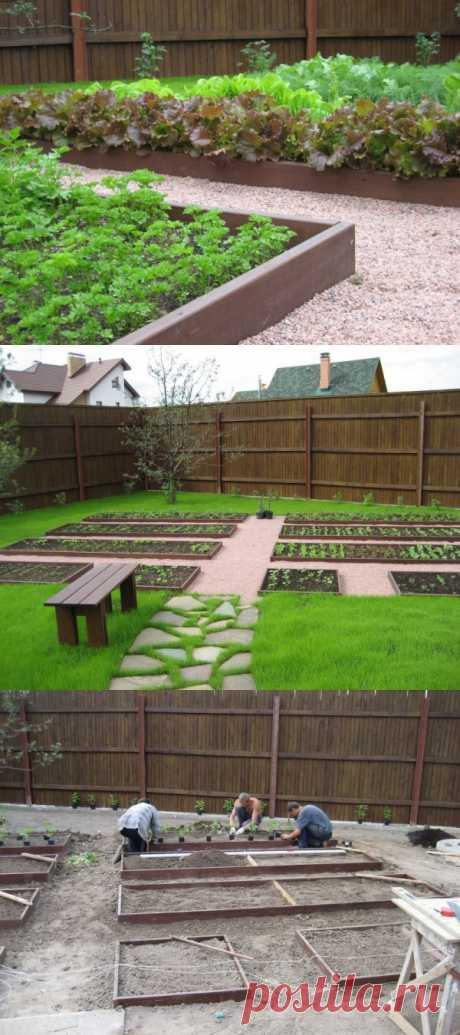 Готовим идеи к лету: декоративный огород. (Описание по клику на картинку)