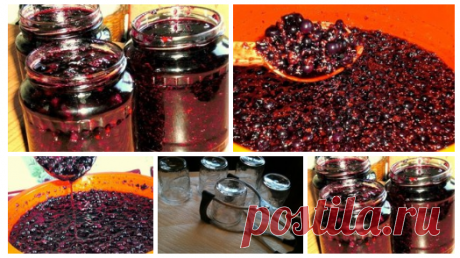 Fragrant blackcurrant jam for the winter in 10 minutes!