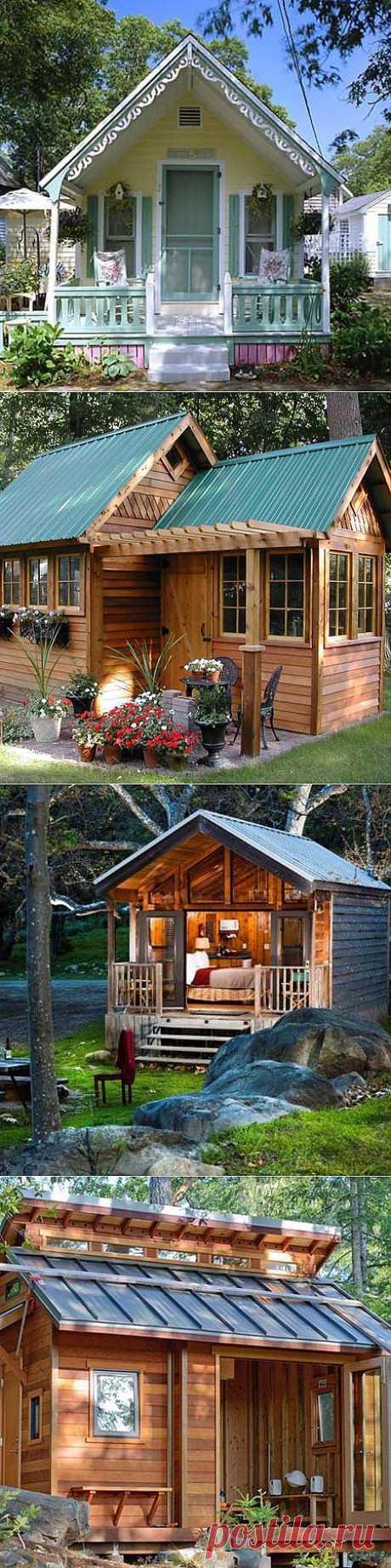 Маленький дачный домик: 10 милых идей
