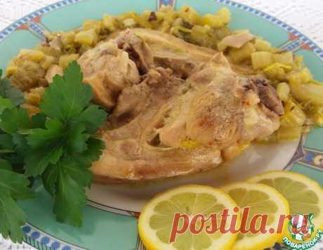 Свинина с сельдереем - кулинарный рецепт