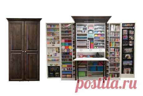 WorkBox - рукодельный шкаф (3Diy)
