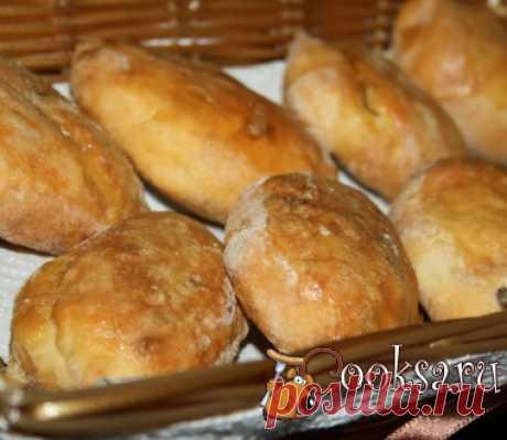 Пирожки с мясом и сыром на творожном тесте в духовке фото рецепт приготовления