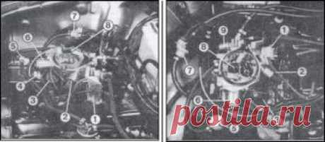Audi > Audi 80 / 90 (1986-1991) Руководство по ремонту и техническому обслуживанию > Карбюратор с электронным управлением > Карбюратор 2 Е Е