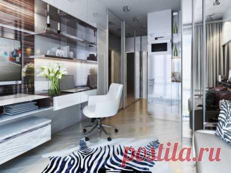 Атмосфера роскоши в крошечной квартире — Lodgers - Дизайн интерьера