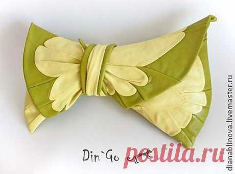 Клатч Крылья бабочки - розовый,клатч из натуральной кожи,Кожаная сумка