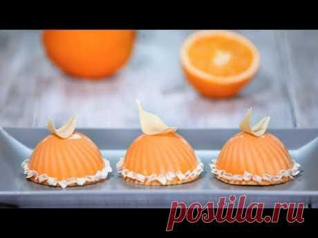 """Муссовое пирожное """"Апельсин"""""""