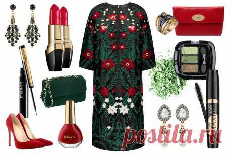 Фантазия художника не знает границ. Одежда авторского дизайна – это всегда смело, ярко, необычно и захватывающе. Изюминка этого платья от Алены Ахмадуллиной – вышивка и пайетки в сочных зеленых тонах папоротника и бело-красных оттенках мерцающего пламени.Трудно представить себе обычный день в таком платье – модель простого кроя, но с невероятно насыщенным декором скорее предназначена для вечернего выхода в свет, так много в нем цвета и блеска.