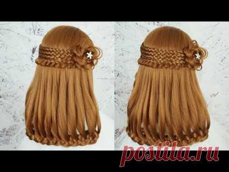 Прическа 2019 - Прическа Легкая - Прическа На Выпускной | Cute Hairstyles For School Braids