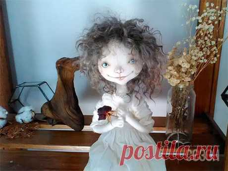 Клуб любителей шитья Сезон - сайт, где Вы можете узнать все о шитье - Текстильная кукла на проволочном каркасе